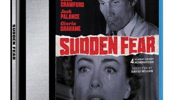 Sudden Fear, starring Joan Crawford, Jack Palance, Gloria Grahame