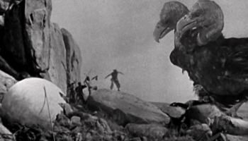 The two-headed Roc attacking Sinbad's crew in The Seventh Voyage of Sinbad