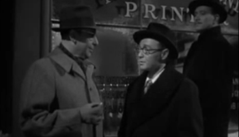 Axis Cedric Hardwicke and Peter Lorre, about to intimidate the Invisible Agent (Jon Hall)