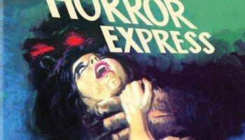 Horror Express, starring Peter Cushing, Christopher Lee, Telly Savalas