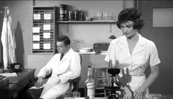 The Leech Woman - the doctor's laboratory