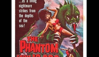 The Phantom from 10,000 Leagues (1955) starring Kent Taylor, Cathy Downs, Michael Whalen