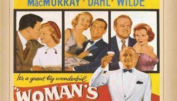 Woman's World, (1954) starringClifton Webb,Lauren Bacall,Fred MacMurray,Cornel Wilde,June Allyson,Van Heflin, Arlene Dahl