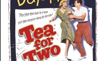 "Tea for Two (1950) starring Doris Day, Gordon MacRae, Gene Nelson, Eve Arden, Billy De Wolfe, S.Z ""Cuddles"" Sakall"