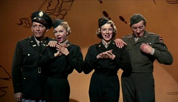 Song lyrics to Gee, I Wish I Was Back In The Army by Irving Berlin, sung by Bing Crosby, Danny Kaye, Rosemary Clooney, and Vera-Ellen in White Christmas