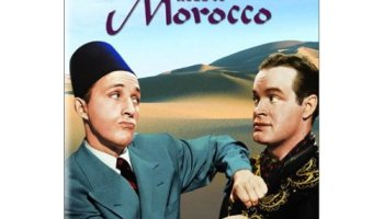 In Road to Morocco, Bob Hope and Bing Crosby survive a shipwreck, fall in love with (and fight over) Dorothy Lamour. But there's a curse on her 1st husband…