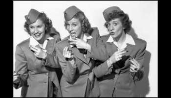 Song lyrics to Bounce Me Brother with a Solid Four, Lyrics by Don Raye, Music by Hugh Prince, Performed by The Andrews Sisters in Buck Privates