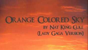 Orange Colored Sky [song lyrics]