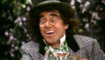 Song lyrics to Laugh, Music and Lyrics by Steve Allen, Performed by Anthony Newley in Alice in Wonderland (1985)