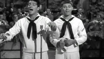 Song lyrics to The Old Calliope, Lyrics by Mack David, Music by Jerry Livingston. Performed by Dean Martin (and Jerry Lewis) in Sailor Beware