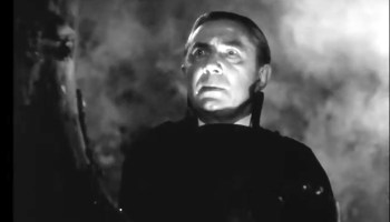Bela Lugosi as Armand Tesla, the vampire in The Return of the Vampire