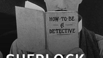 Sherlock Jr. (1924) starring Buster Keaton, Kathryn McGuire, Ward Crane