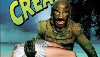 Revenge of the Creature (1955) starring John Agar, Joan Bromfield, Lori Nelson