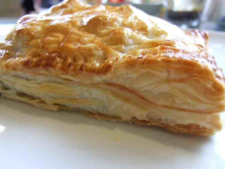A sweetly savoury filling of fresh summer vegetables & tangy cheese is enclosed in warm, crisp, golden puff pastry. Just add salad for perfect summer food!