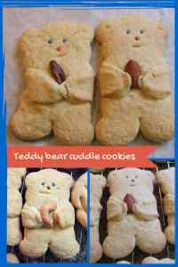 Teddy bear cuddle cookies