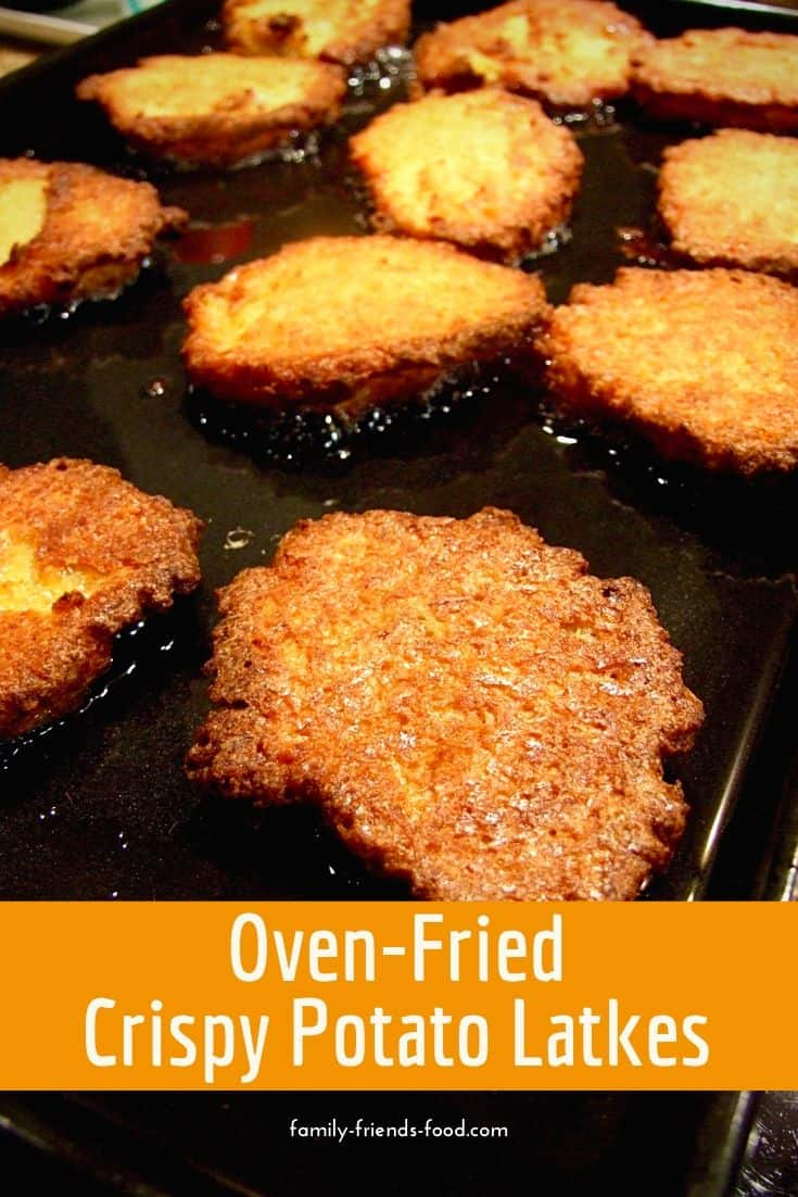 All the deliciousness of hot potato latkes with no mess, no fuss, and no standing by the stove for ages! Perfect for Chanukah and all year round