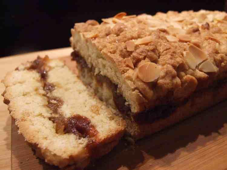 mincemeat & apple shortcake slice