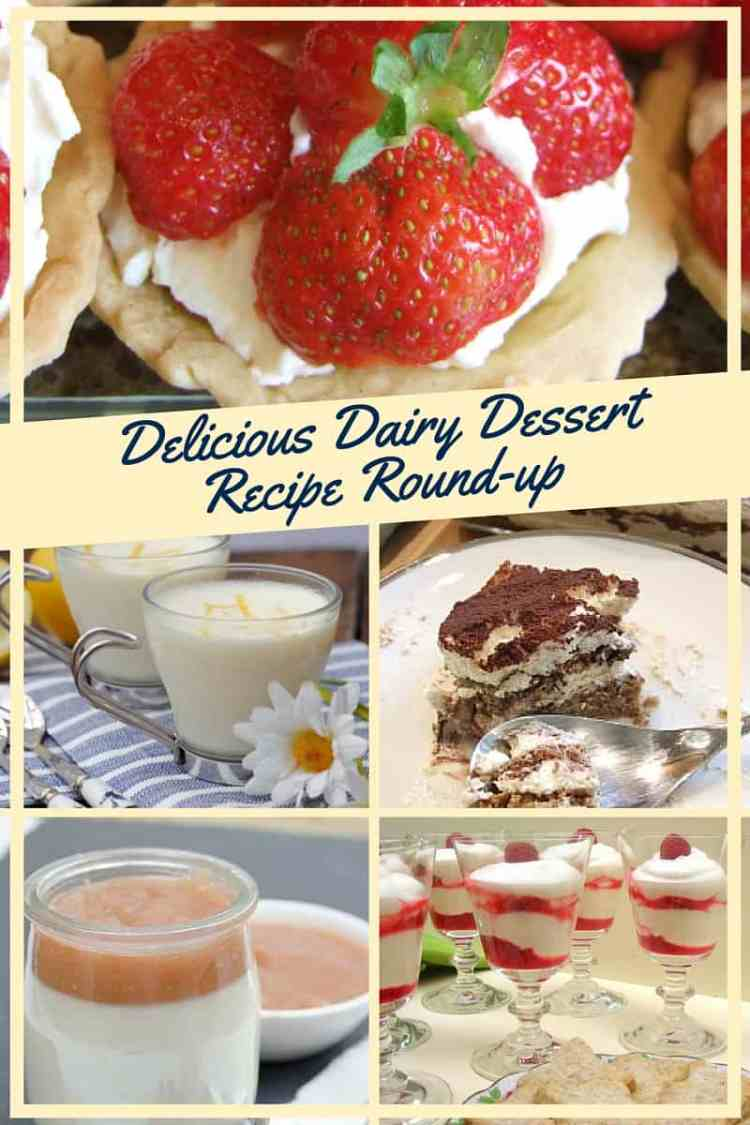 A selection recipes for gorgeous creamy dreamy dairy desserts, perfect for celebrating Shavuot - the Jewish spring festival - or for enjoying all summer long!