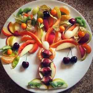 Tu B'Shevat fruit platter