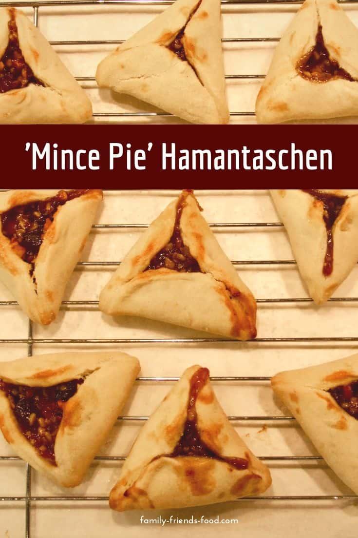 'Mince pie' hamantaschen.