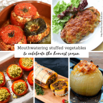 Stuffed vegetables, brimming with abundant fillings, are traditionally eaten to celebrate the autumn harvest. Tuck in to these delicious dishes and enjoy!