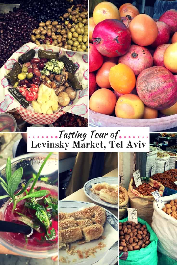 Tel Aviv's Levinsky Market is a foodie paradise! Learn about the delicious food, drinks, sweets & spices available in this historic Israeli neighbourhood.