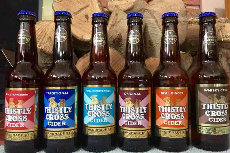 Thistly Cross ciders
