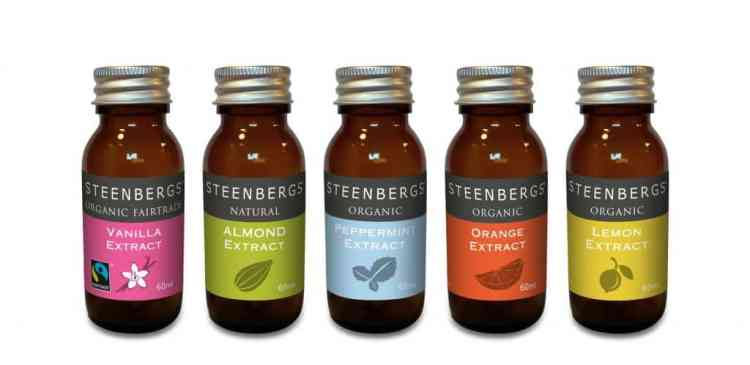 Steenbergs bakery flavours
