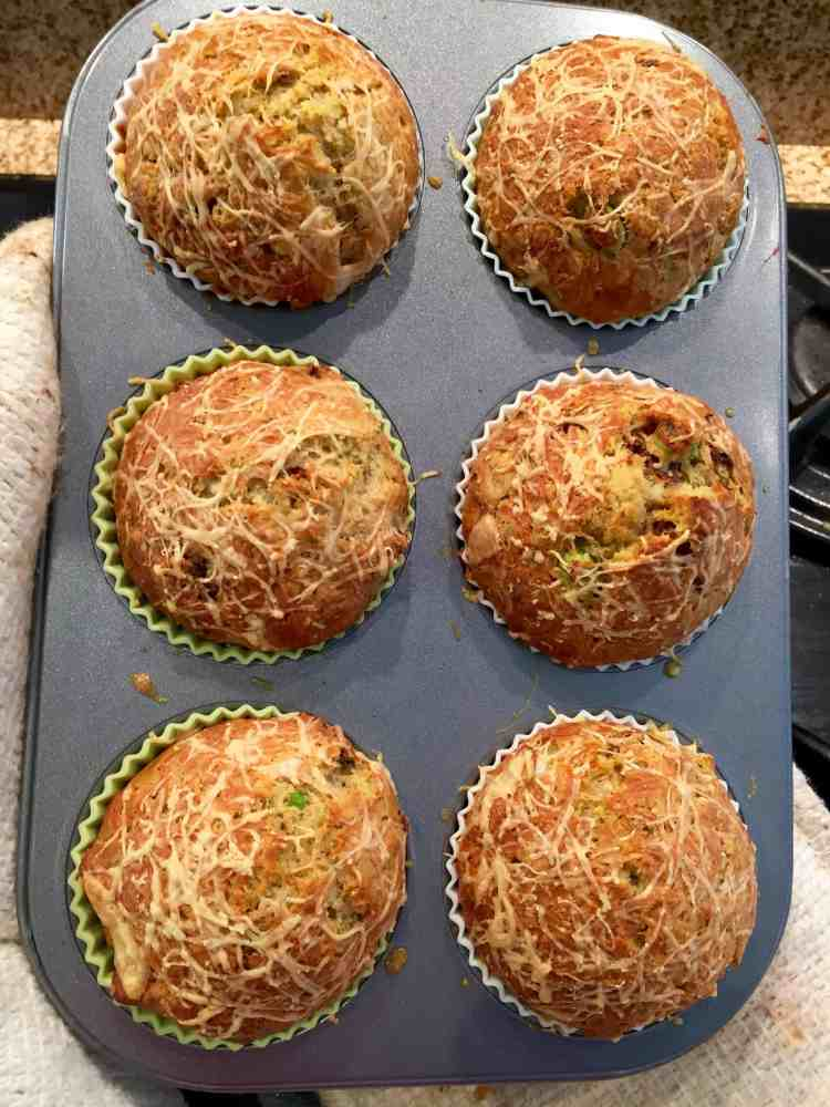 These delicious savoury muffins are soft, light and fluffy - perfect served warm from the oven for lunch or a snack. Great for lunch boxes & picnics too!