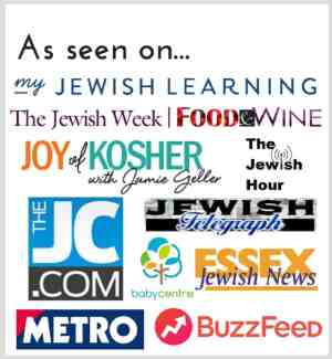 Featured by... my Jewish Learning, The Jewish Week Food & Wine, Joy of Kosher with Jamie Geller, The Jewish Hour, The JC.com, Jewish Telegraph, babycentre, Essex Jewish News, Metro, BuzzFeed