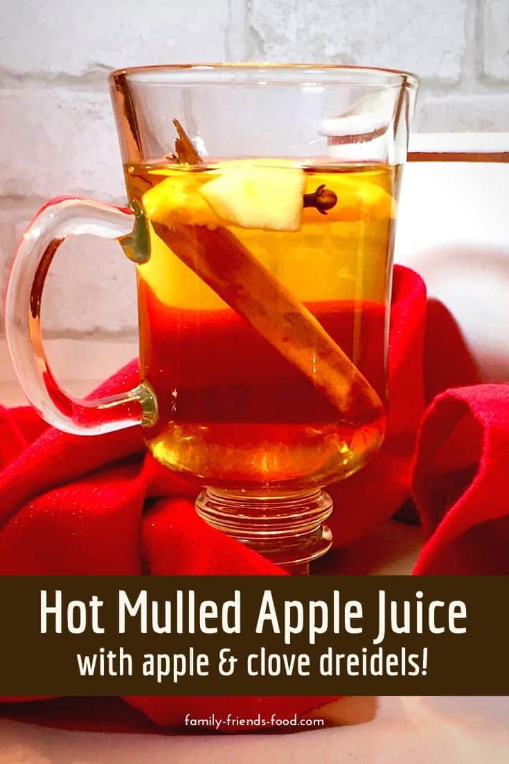 hot mulled apple juice