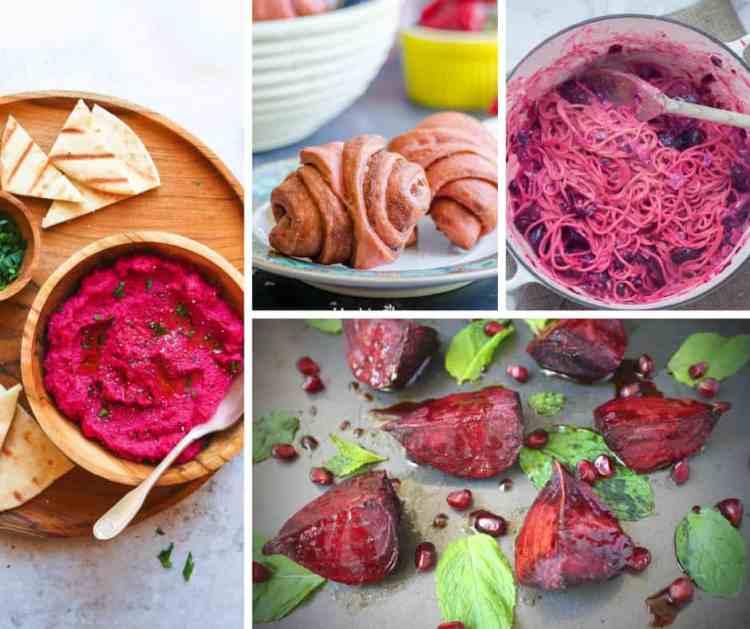 Rosh Hashanah beetroot recipes