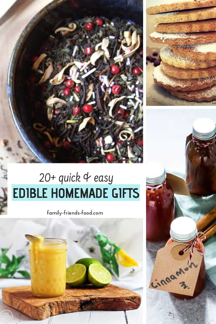 How to make edible homemade gifts for all your family & friends