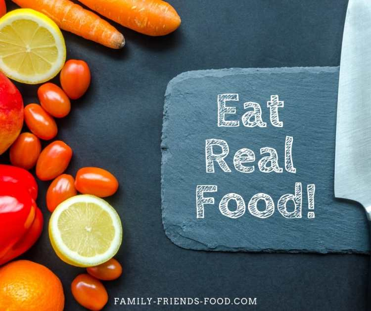 Just eat real food! One of the secrets of a stress-free Pesach!