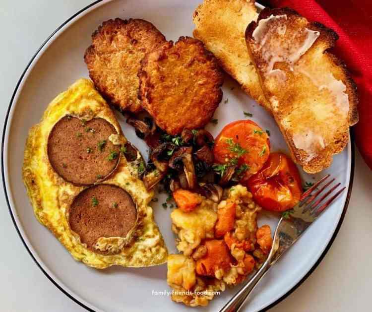 Full Jewish Breakfast.