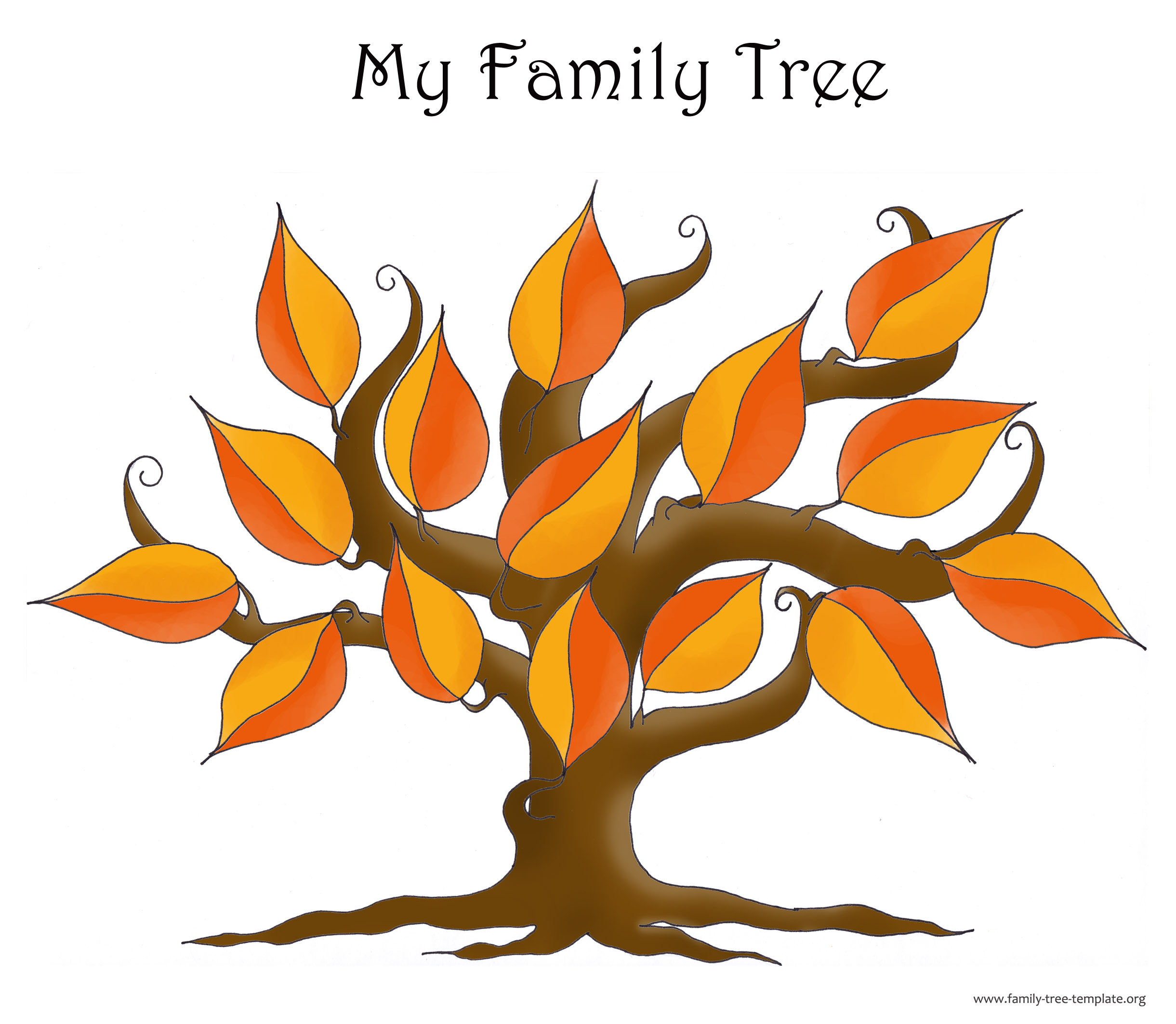 Family Tree Template Resources