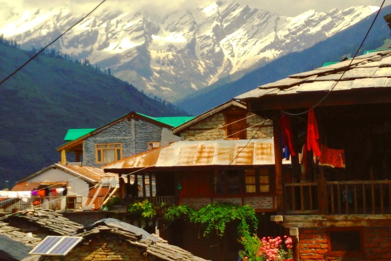 manali, india with kids