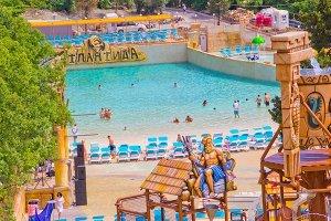 Ялта, аквапарк в отеле атлантида