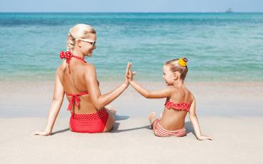 пляжи для отдыха с детьми
