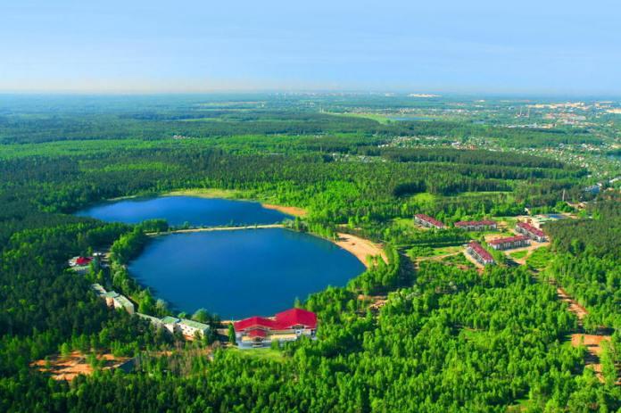 Отдых в Подмосковье, озеро Коверши