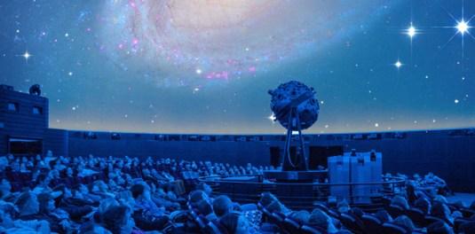 Московский планетарий, большой звездный зал, с детьми на выходные