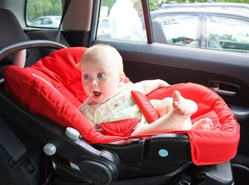 Путешествие с ребенком на машине