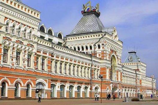 Ярмарочный дом, Нижний Новгород с ребенком