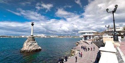 Севастополь, памятник погибшим кораблям