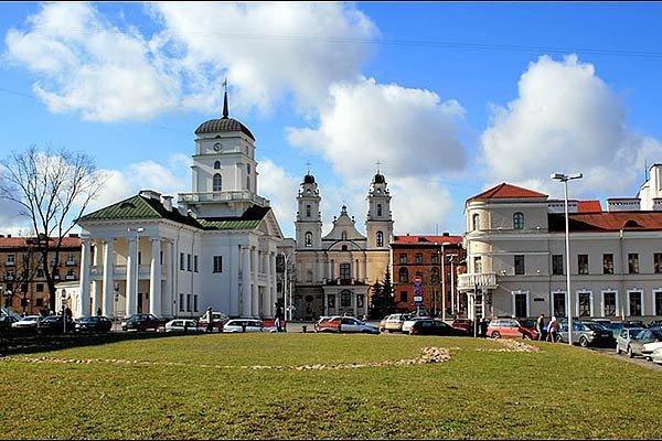Минск, Верхний город, здание Ратуши