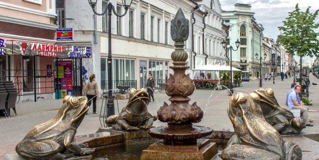 Казань, улица Баумана