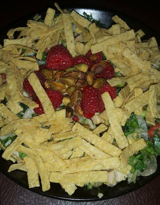 Raspberry Pistachio Salad Recipe
