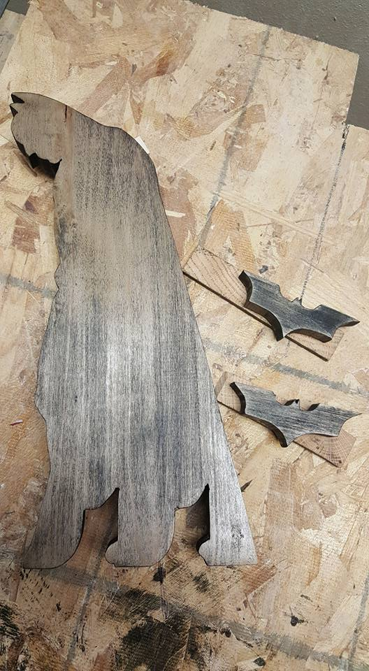 Batman scrollsaw pattern dark knight