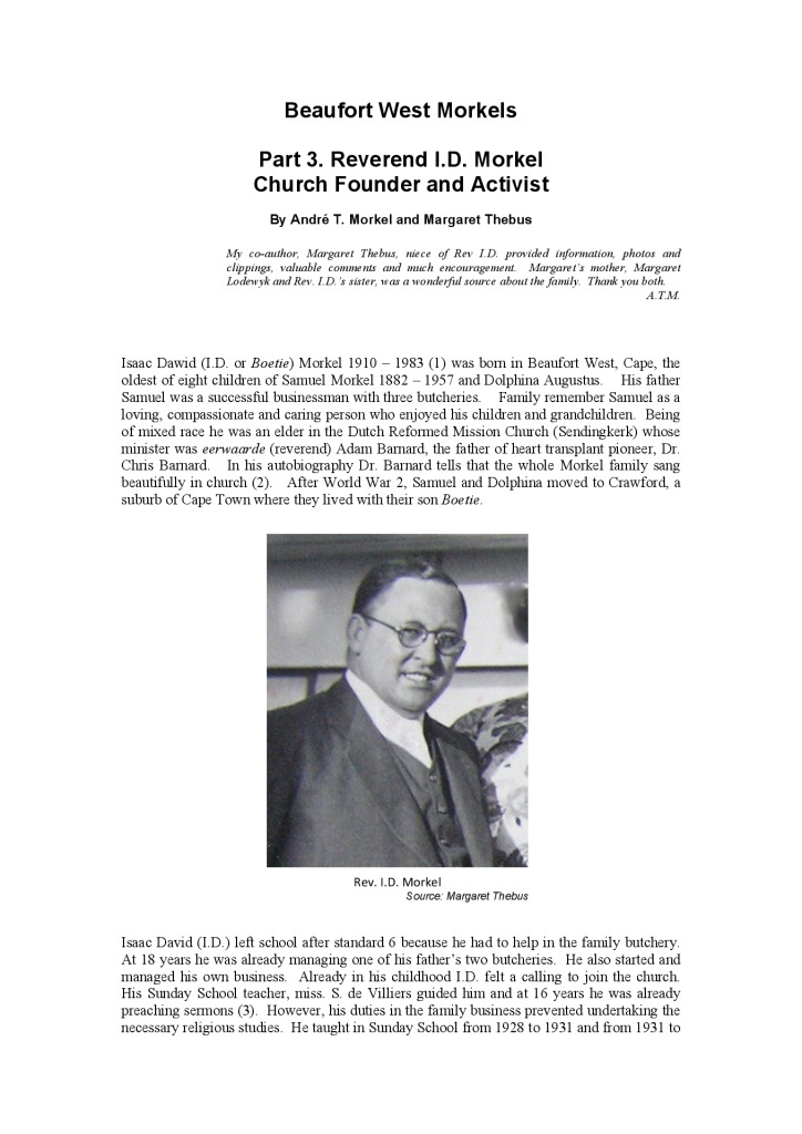 thumbnail of B West Morkel Pt3 Rev ID Morkel Church founder and Activist