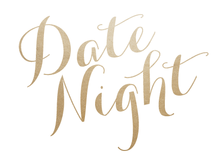 Date Night logo Gold